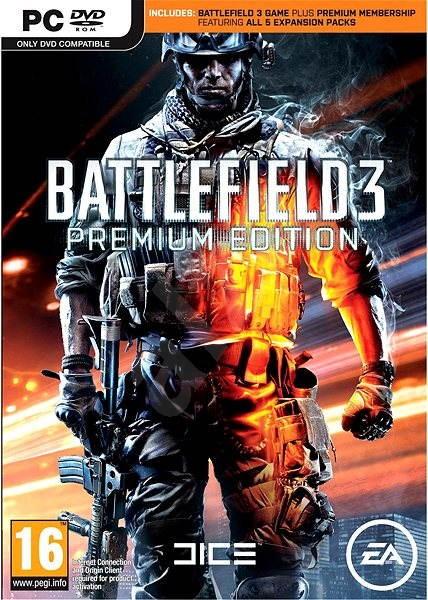 Battlefield 3 (Premium Edition) CZ - Hra pro PC