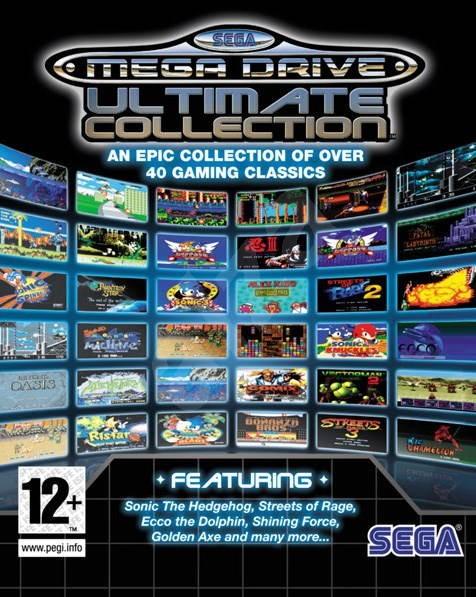 Sega Mega Drive Collection v1 - Hra pro PC