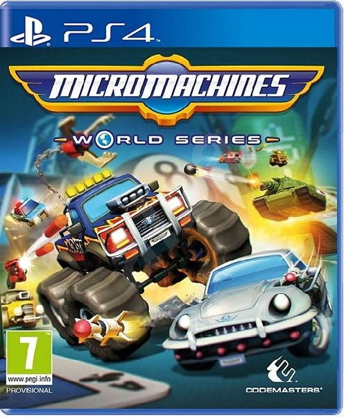 Micro Machines World Series - PS4 - Hra pro konzoli