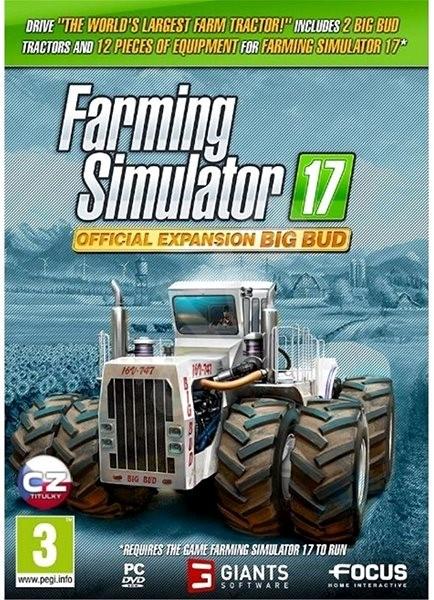 Farming Simulator 17 oficiální rozšíření BIG BUD - Herní doplněk
