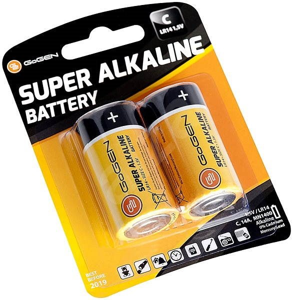Gogen C LR14 Super Alkaline 2 - Jednorázová baterie