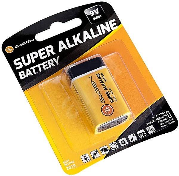 Gogen 9V Super Alkaline 1 - Jednorázová baterie