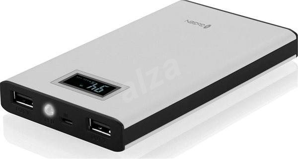 Gogen Power Bank 8000 mAh bílo-černá - Powerbanka