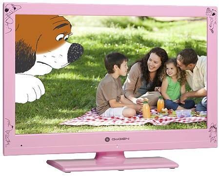"""22"""" Gogen MAXI TELKA 22 P růžová - Televize"""