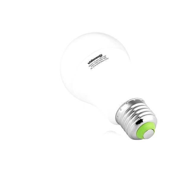 Whitenergy SMD2835 A60 E27 12W - bílá mléčná - LED žárovka