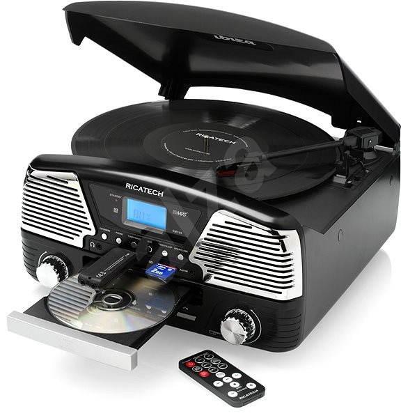 Ricatech RMC 90 Ibiza černý - Gramofon