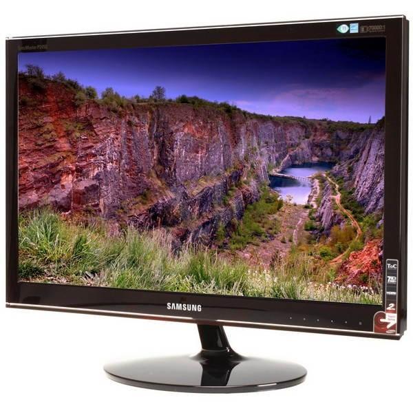 """24"""" Samsung P2450H červeno-černý - LCD monitor"""