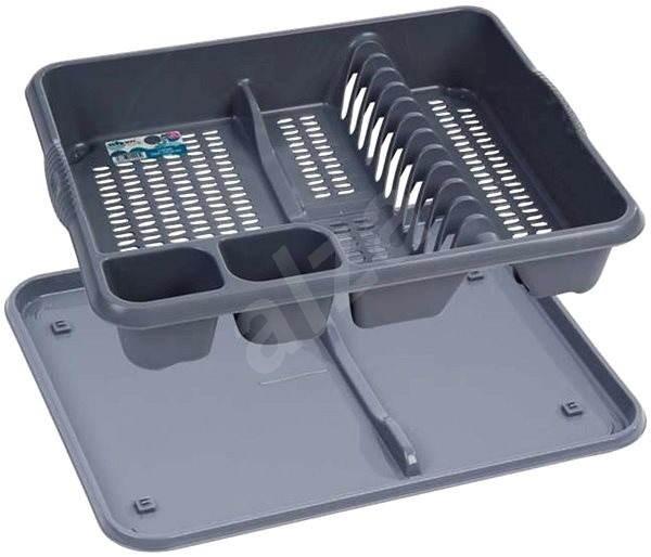 Wham Odkapávač na nádobí stříbrný 12675 - Odkapávač na nádobí