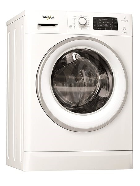 WHIRLPOOL FreshCare+ FWDD117168WS EU - Pračka se sušičkou