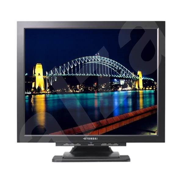 """19"""" LCD Hyundai U90A - černý (black) 800:1, 300cd/m2, 5ms GTG, 1280x1024, repro, TCO03 - LCD monitor"""