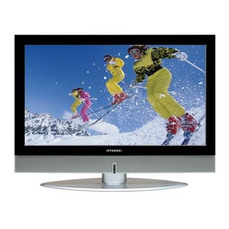 23 palcový LCD TV Hyundai Vvuon E230D - Televize