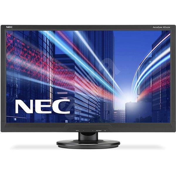 "24"" NEC AccuSync AS242W černý - LCD monitor"
