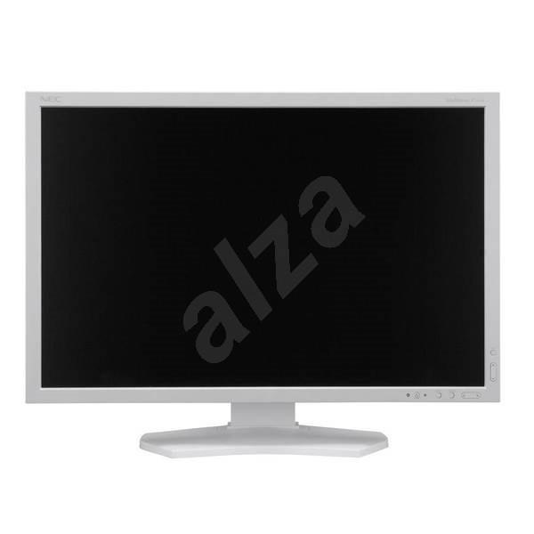 "24"" NEC MultiSync P241W bílý - LCD monitor"