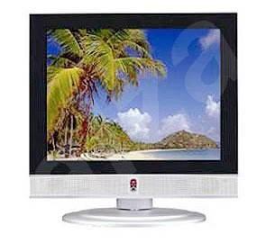 "20"" LCD TV PRESTIGIO P200DVD-X s DVD/ DivX přehrávačem, 350:1 kontrast, 450cd/m2, 30ms, 640x480, rep - Televize"