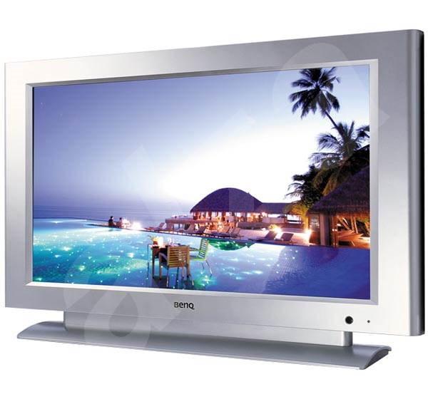 """37"""" LCD TV BenQ DV3750, 16:9 HDTV, 800:1 kontrast, 550cd/m2, 8ms, 1920x1080, DVI, AV, Component, SCA - Televize"""