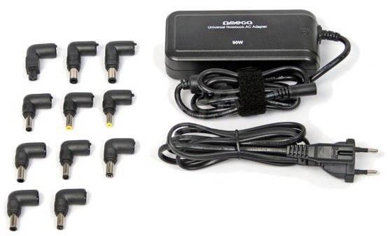 OMEGA OZU921K Universal 90W + USB - Napájecí adaptér