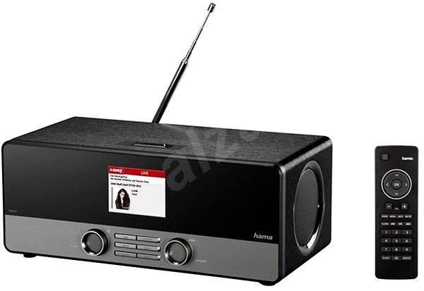 Hama DIR3100 DAB+ internetové rádio černé - Internetové Rádio