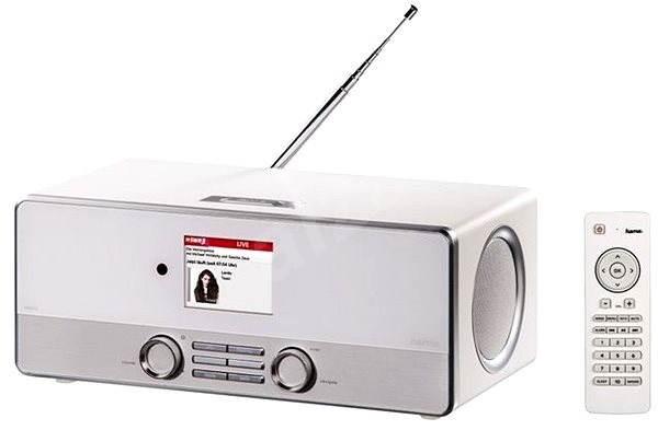 Hama DIR3110 DAB+ internetové rádio bílé - Internetové Rádio