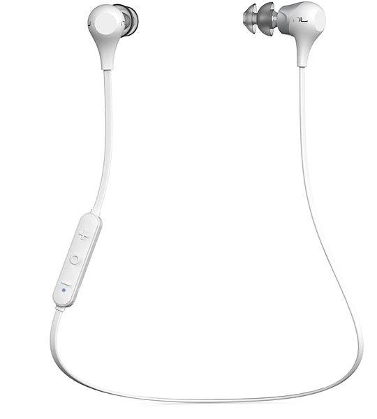 NuForce BE2 White - Bezdrátová sluchátka