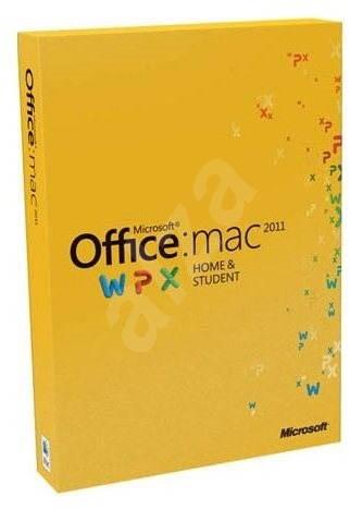 Microsoft Office Home and Student 2011 ENG pro MAC - 1 uživatel/ 1 počítač - Kancelářský balík