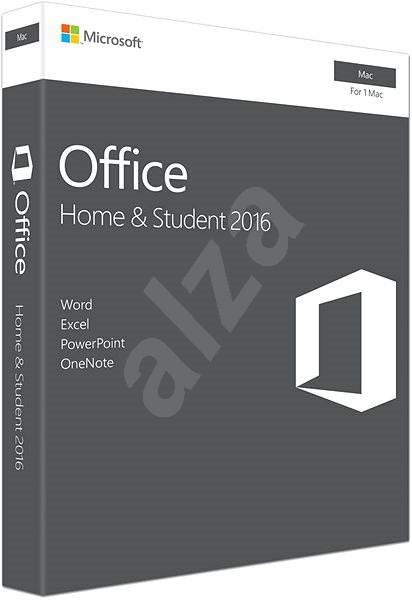 Microsoft Office Home and Student 2016 ENG pro MAC - 1 uživatel/ 1 MAC - Kancelářský balík