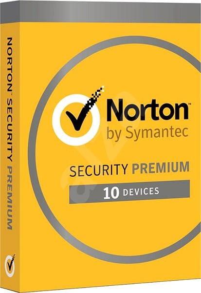 Norton Security Premium 25GB 3.0 CZ, 1 uživatel, 10 zařízení, 12 měsíců (elektronická licence) - Antivirový program