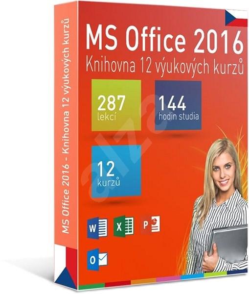 GOPAS MS Office 2016 -  12 samostudijních výukových kurzů na 365 dní CZ (elektronická licence) - Výukový program