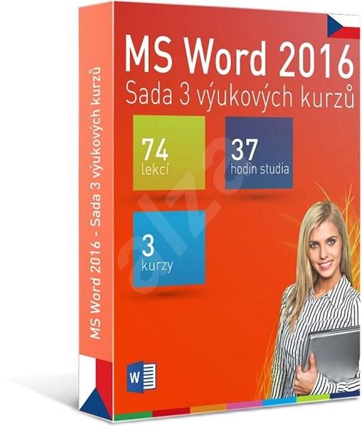 GOPAS MS Word 2016 - 3 samostudijní výukové kurzy na 365 dní CZ (elektronická licence) - Výukový program