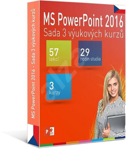 GOPAS MS PowerPoint 2016 - 3 samostudijní výukové kurzy na 365 dní CZ (elektronická licence) - Výukový program