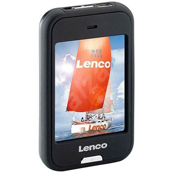 Lenco Xemio 857 4GB černý - MP4 přehrávač