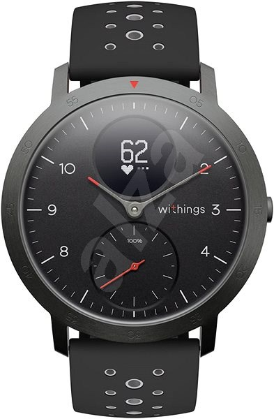 Withings Steel HR Sport (40mm) - Black - Chytré hodinky