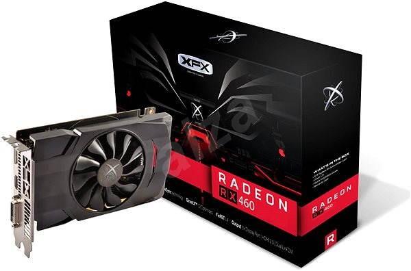 XFX Radeon RX 460 2GB Single Fan - Grafická karta