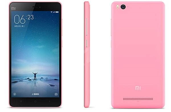 Xiaomi Mi 4C 16GB růžový - Mobilní telefon