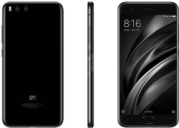 Xiaomi Mi6 Black - Mobilní telefon