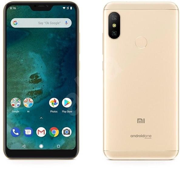 0d911116b Xiaomi Mi A2 Lite 64GB LTE Zlatý - Mobilní telefon   Alza.cz