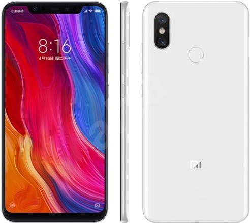 Xiaomi Mi 8 64GB LTE Bílý - Mobilní telefon