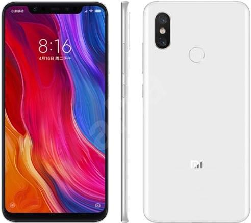 Xiaomi Mi 8 128GB LTE Bílý - Mobilní telefon