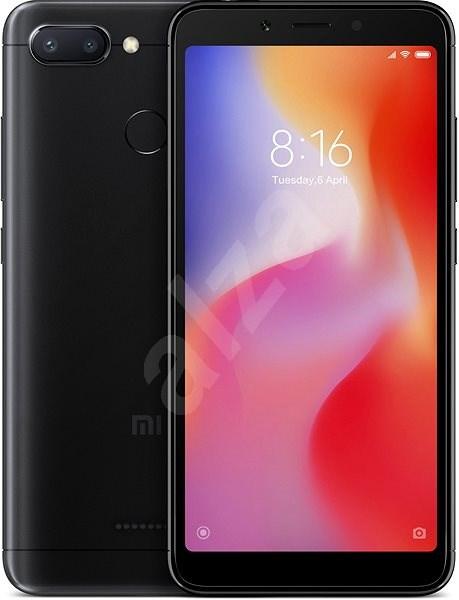 Xiaomi Redmi 6 32GB LTE Černý - Mobilní telefon