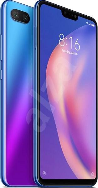 Xiaomi Mi 8 Lite 64GB LTE modrá - Mobilní telefon