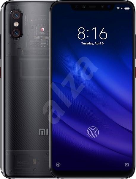 Xiaomi Mi 8 Pro 128GB transparentní - Mobilní telefon