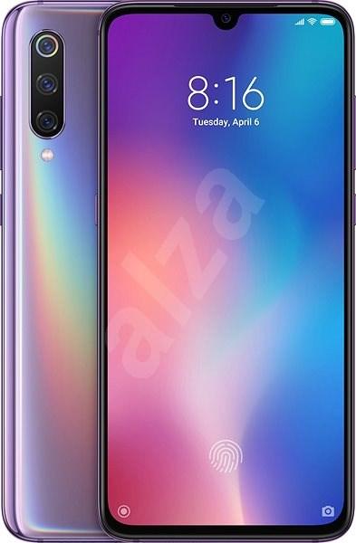 Xiaomi Mi 9 LTE 64GB fialová - Mobilní telefon