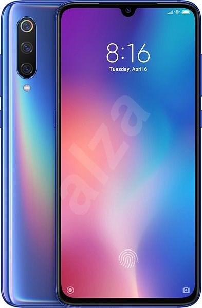 Xiaomi Mi 9 LTE 128GB modrá - Mobilní telefon