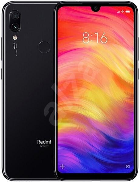 Xiaomi Redmi Note 7 LTE 128GB Black - Mobile Phone