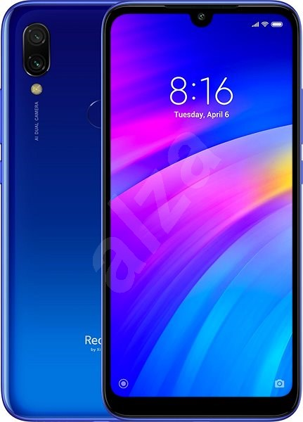 Xiaomi Redmi 7 LTE 16GB modrá - Mobilní telefon