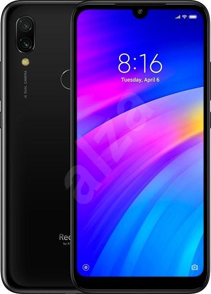 Xiaomi Redmi 7 LTE 64GB černá - Mobilní telefon