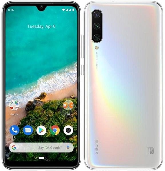 Xiaomi Mi A3 LTE 64GB gradientní bílá - Mobilní telefon