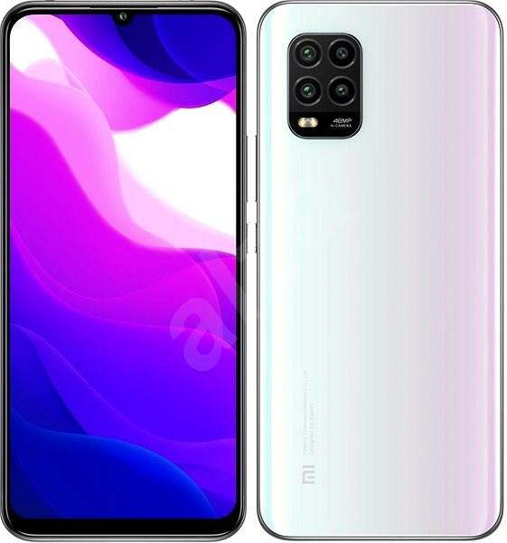 Xiaomi Mi 10 Lite 5G 128GB bílá - Mobilní telefon