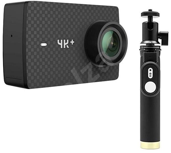 YI 4K+ Action Camera černá + YI Selfie Stick & YI Bluetooth Remote - Outdoorová kamera