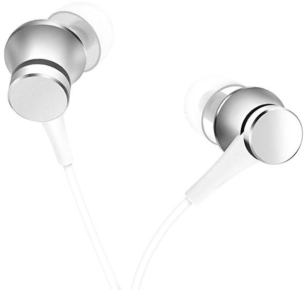 Xiaomi Mi In-Ear Headphones Basic Silver - Sluchátka