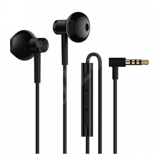 Xiaomi Mi Dual Driver Earphones Black  - Sluchátka